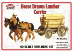 Model Power 624 Horse Drawn Lumber Carrier Building Kit